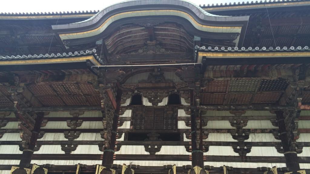 大仏殿のひさし