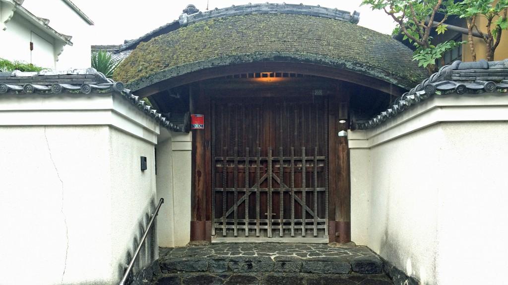 東大寺裏道の個人のお宅