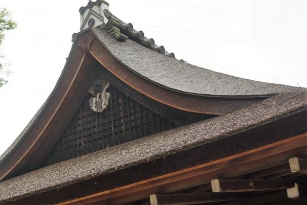 宇治上神社 檜皮葺
