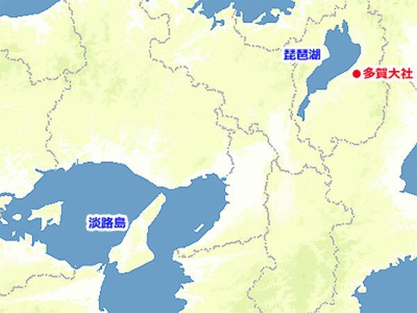 琵琶湖 淡路島