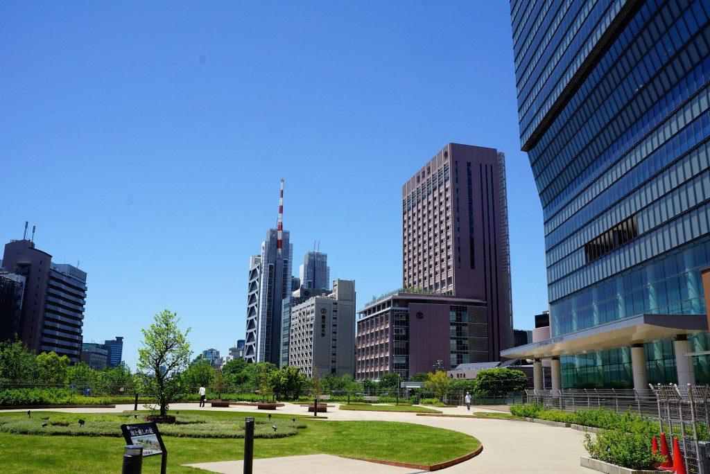 東京医科歯科大 知と癒やしの庭