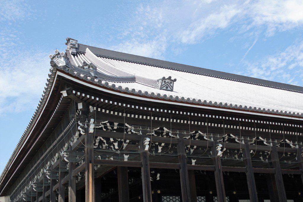 西本願寺 御影堂 屋根瓦