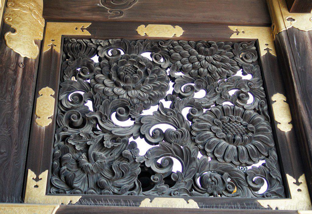 西本願寺 唐門 彫刻
