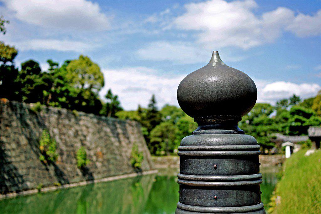 二条城 本丸櫓門 東橋 欄干 擬宝珠
