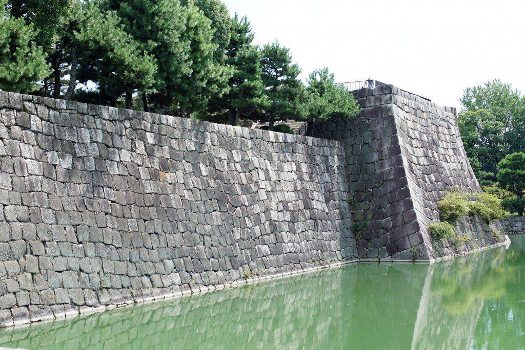 二条城 天守閣の石垣