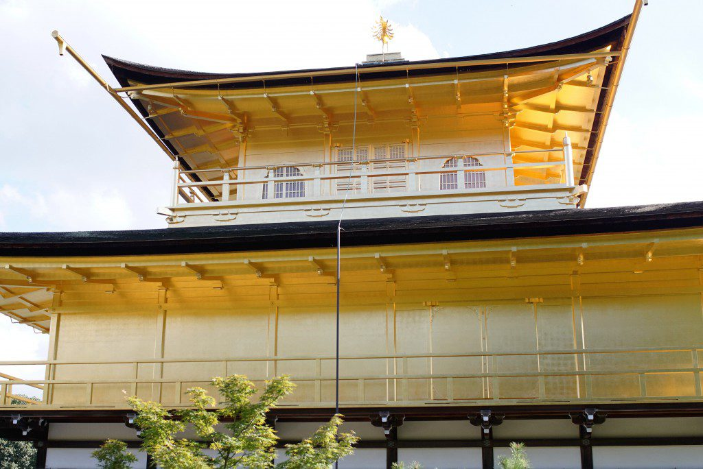 京都 金閣寺 裏側