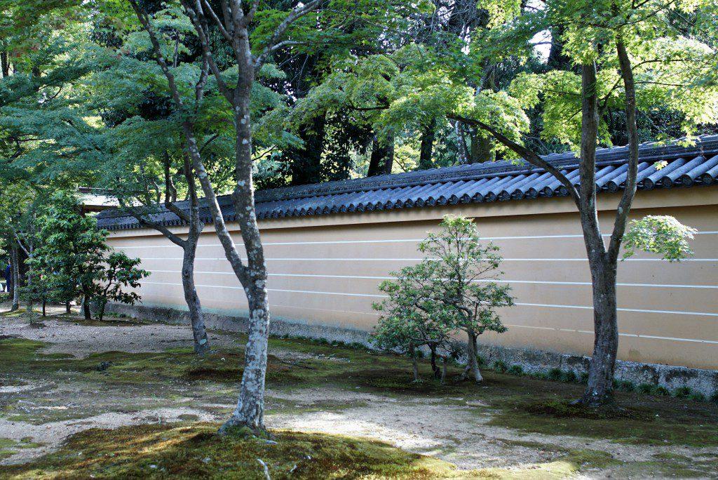 京都 金閣寺 塀