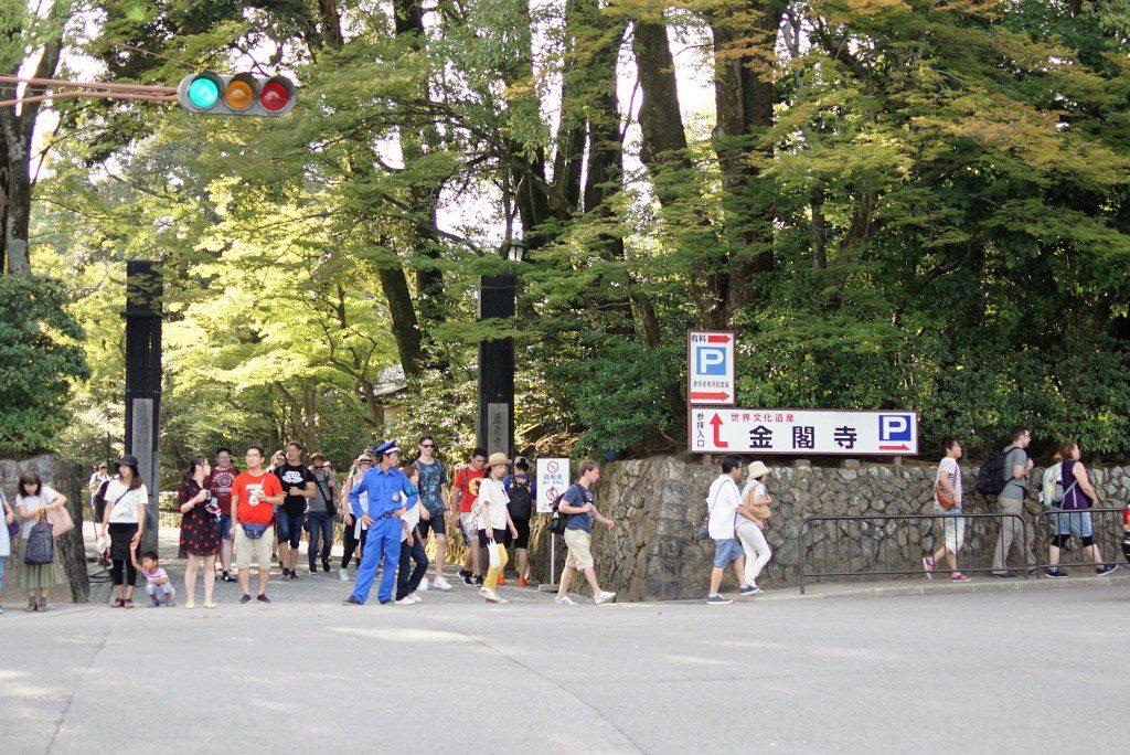 金閣寺 入り口