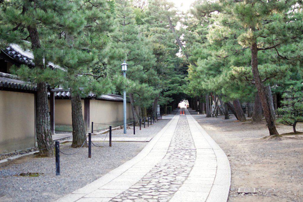 大徳寺塔頭寺院 通路