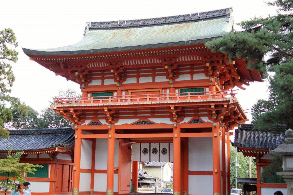 今宮神社 山門