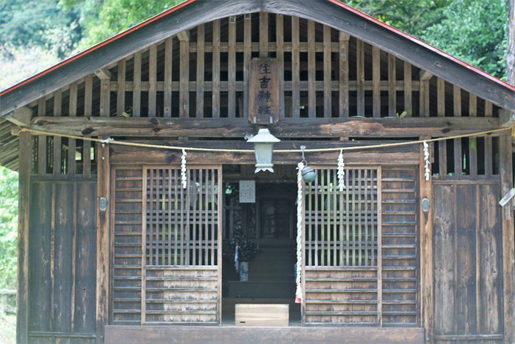 毛呂山町滝ノ入ローズガーデン住吉神社
