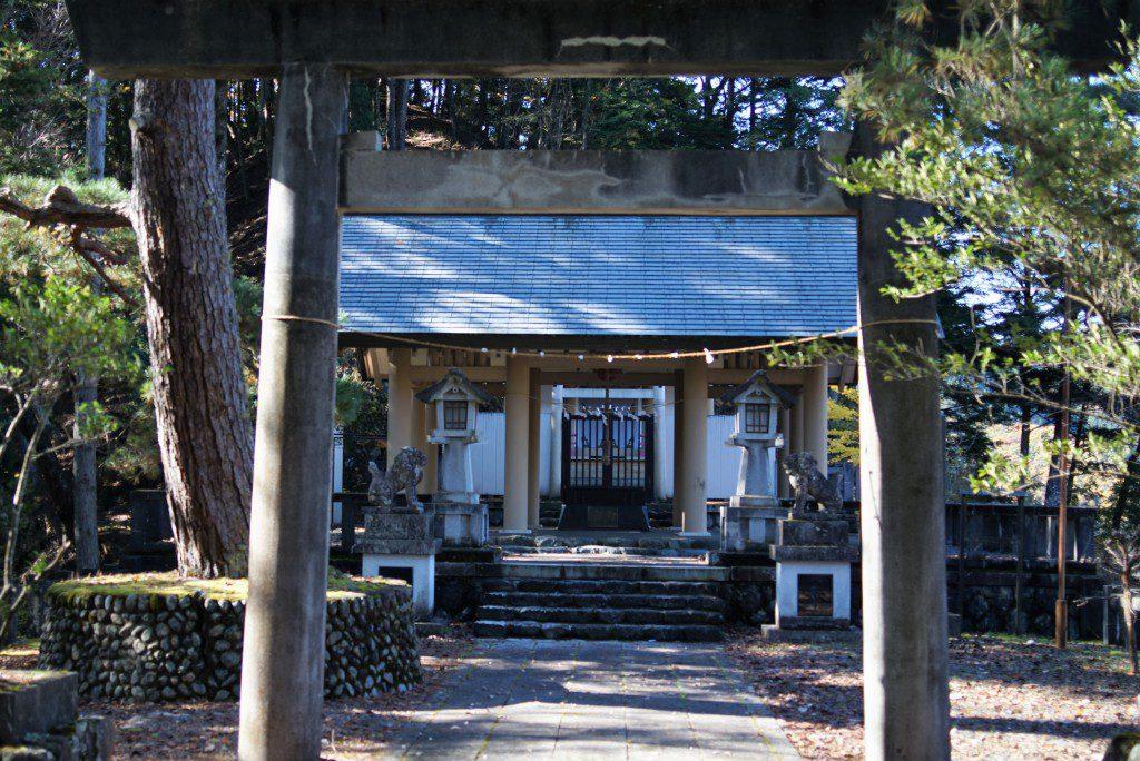 小河内神社 本殿