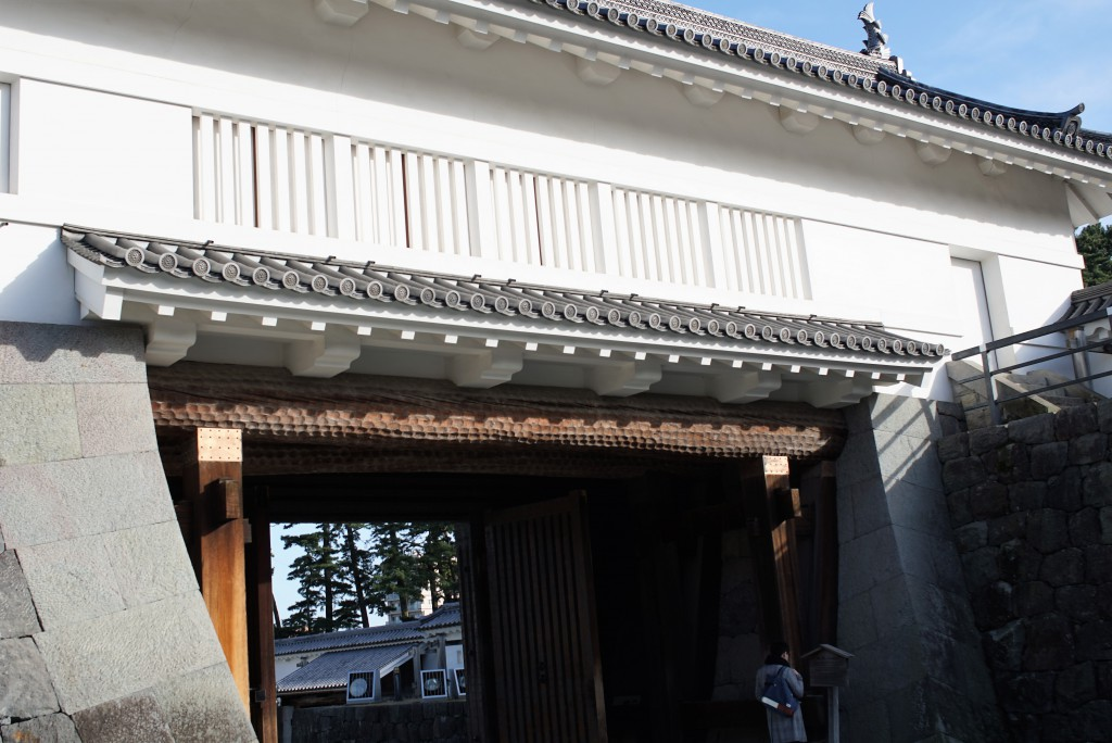 小田原城 門