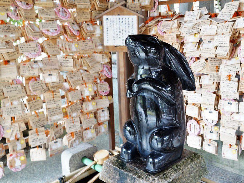 岡崎神社手水舎