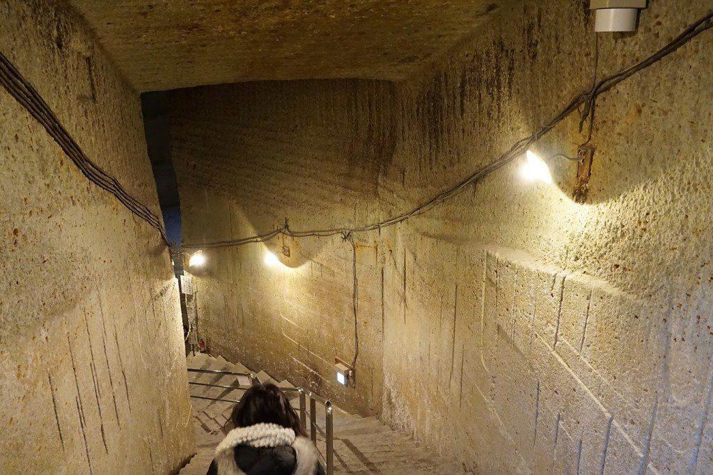 大谷石 洞窟 資料館