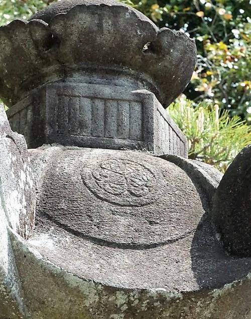 恵林寺 増上寺石灯籠