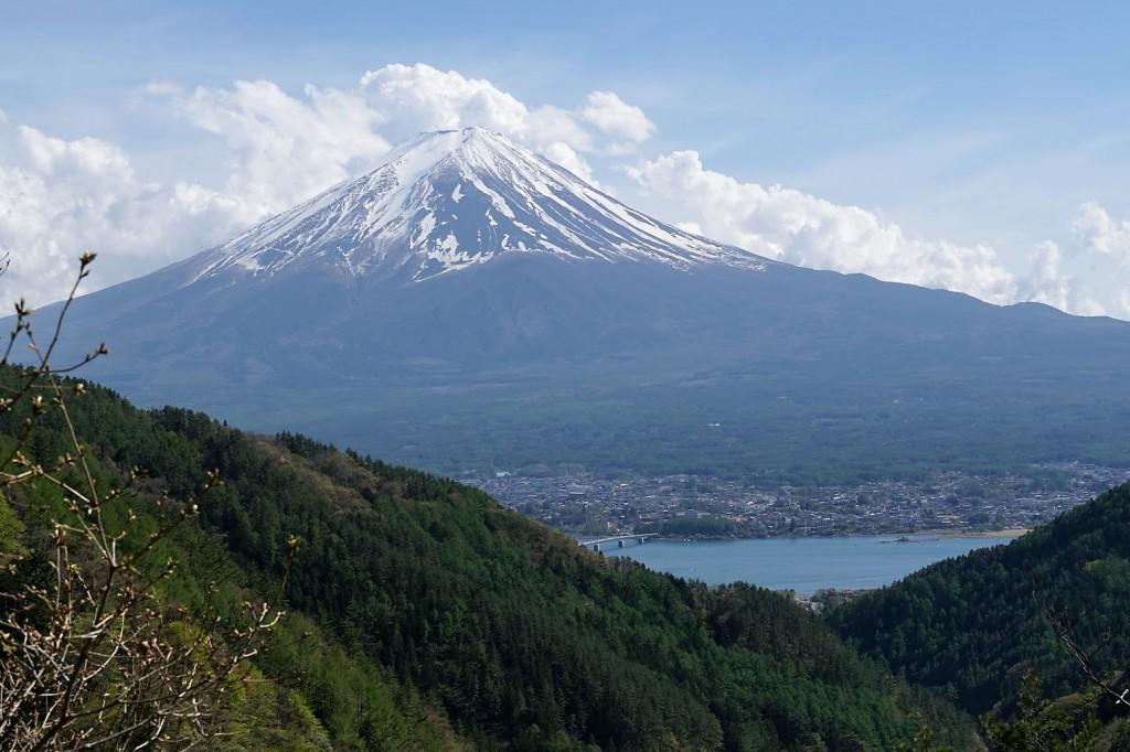 御坂峠 天下茶屋 富士山
