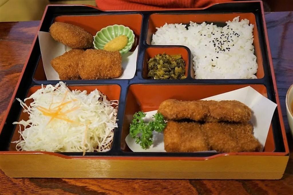 上野 とんかつ 蓬莱屋 東京物語膳