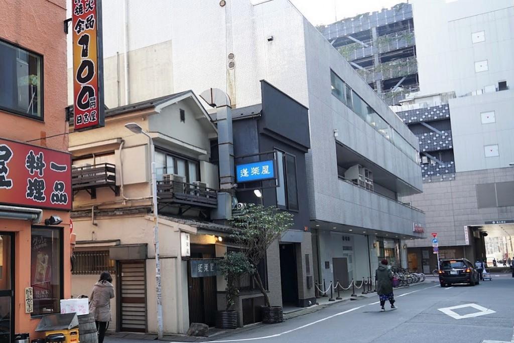 上野 蓬莱屋 松坂屋の裏