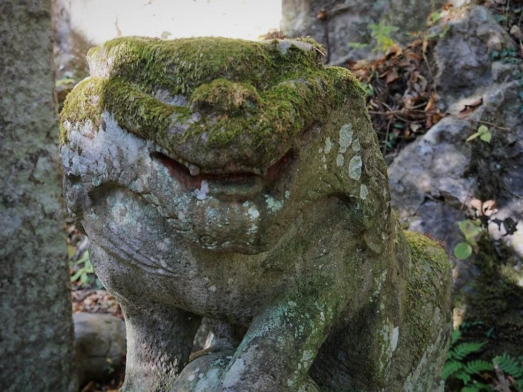 奥多摩 白髭神社 狛犬